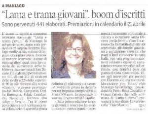 Messaggero Veneto 15 marzo 2017